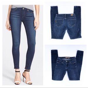 Paige Dark Wash Verdugo Jegging Skinny Jeans